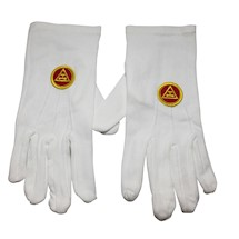 Royal Arch Gloves with Triple Tau Emblem