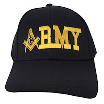 Masonic ARMY Ball Cap