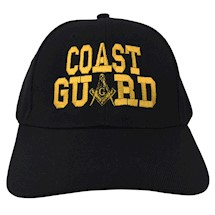 Masonic COAST GUARD Ball Cap