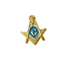 Masonic Tie-Tack Gold plate