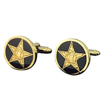 Eastern Star Cuff Links