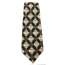 York Rite tie with emblems