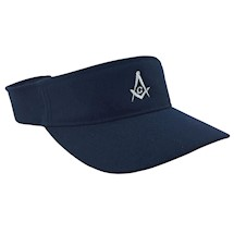 Masonic Athletic Visor Hat with embelm