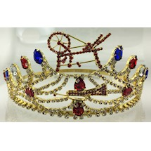 Heroines of Jericho Crown - Goldtone