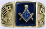 Masonic Ring  The working tools 11005