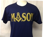 "Masonic Tee Shirt  ""Authentic Tee""  Short Sleeve"