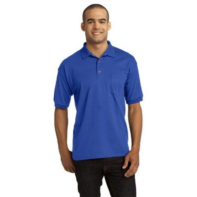 JERSEY KNIT POCKET POLO
