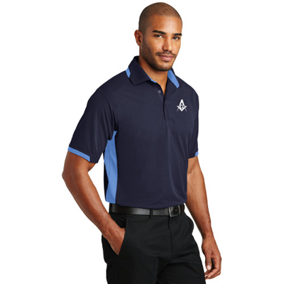 Dry zone colorblock polo
