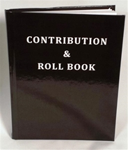 Masonic Member Contribution & Roll Book