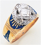 Masonic Gold Ring - 3132