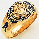 Masonic ring Macoy masonic Supplies 3135