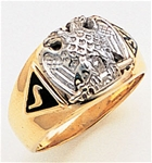 Masonic 32 Degree Scottish Rite Ring Macoy Publishing Masonic Supply 3384