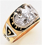 Masonic 32 Degree Scottish Rite Ring Macoy Publishing Masonic Supply 3385