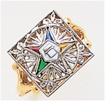 Order of the Eastern Star Ring Macoy Publishing Masonic Supply 3396