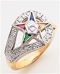 Order of the Eastern Star Ring Macoy Publishing Masonic Supply 3401