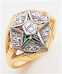 Order of the Eastern Star Ring Macoy Publishing Masonic Supply 3403