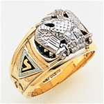 Masonic 32 Degree Scottish Rite Ring Macoy Publishing Masonic Supply 3432