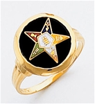 Order of the Eastern Star Ring Macoy Publishing Masonic Supply 3443