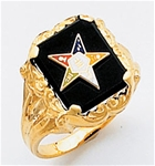 Order of the Eastern Star Ring Macoy Publishing Masonic Supply 3449
