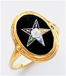 Order of the Eastern Star Ring Macoy Publishing Masonic Supply 3450