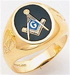 Masonic Ring - 5002 - open back