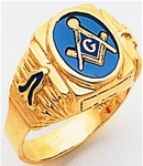 Masonic Ring - 5004 - open back
