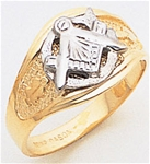 Masonic Gold Ring - 5022