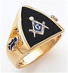 Masonic Ring - 5068 - open back