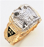 Masonic 32 Degree Scottish Rite Ring Macoy Publishing Masonic Supply 5200