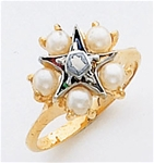 Order of the Eastern Star Ring Macoy Publishing Masonic Supply 5493