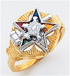 Order of the Eastern Star Ring Macoy Publishing Masonic Supply 5511