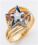 Order of the Eastern Star Ring Macoy Publishing Masonic Supply 5512