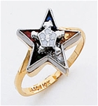 Order of the Eastern Star Ring Macoy Publishing Masonic Supply 5522