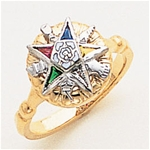 Order of the Eastern Star Ring Macoy Publishing Masonic Supply 5559