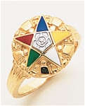 Order of the Eastern Star Ring Macoy Publishing Masonic Supply 5561