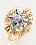 Order of the Eastern Star Ring Macoy Publishing Masonic Supply 5563