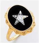 Order of the Eastern Star Ring Macoy Publishing Masonic Supply 5564