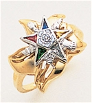 Order of the Eastern Star Ring Macoy Publishing Masonic Supply 5565