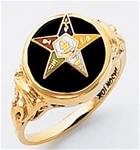 Order of the Eastern Star Ring Macoy Publishing Masonic Supply 5575