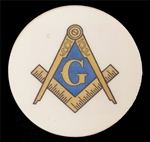 masonic Car coaster