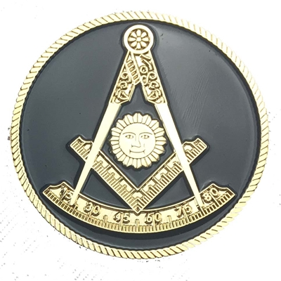 2 inch Small Past Master Auto Emblem