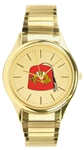 Shrine Goldtone Watch w/ Expansion Band