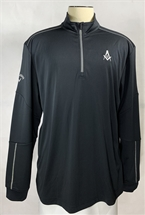 Callaway water repellent quarter zip Shirt for Masons