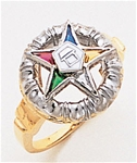 Order of the Eastern Star Ring Macoy Publishing Masonic Supply 8855