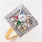 Order of the Eastern Star Ring Macoy Publishing Masonic Supply 8857