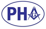 Prince Hall bumper sticker - Free Shipping
