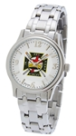 Knights Templar Watch by Bulova silver tone