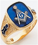 Masonic Ring - 9952 - open back