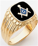 Masonic Ring - 9962 - open back