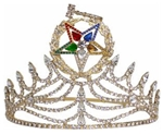 Grand Matron Crown Gold tone